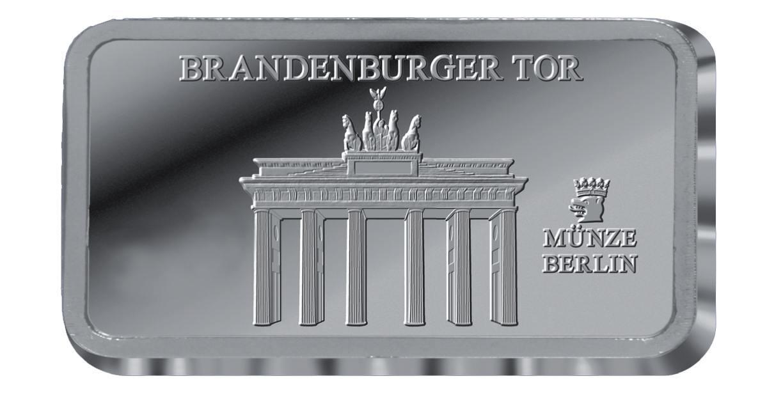 Silberbarren Staatliche Münze Berlin