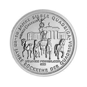 Silber Quadriga Bei Staatliche Münze Berlin Online Kaufen