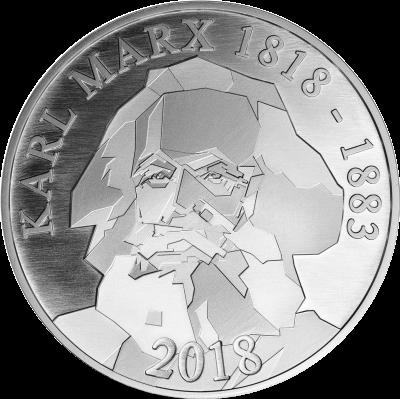 200 Geburtstag Karl Marx Staatliche Münze Berlin