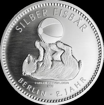 Silber Eisbär 2018 1 Unze Staatliche Münze Berlin