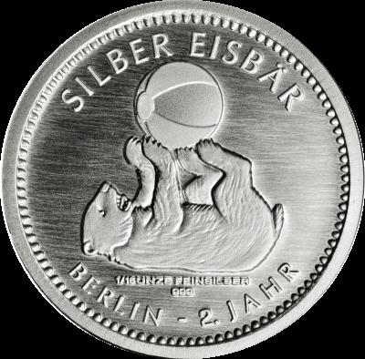 Silber Eisbär 2018 116 Unze Staatliche Münze Berlin