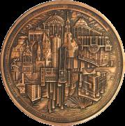 Berlin-Medaille (Kupfer patiniert)