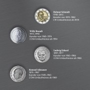 Deutsche Kanzler - Münzedition der Münze Berlin