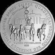 Silber Quadriga 2018  1 Unze
