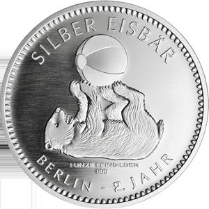 Silber Eisbär 2018